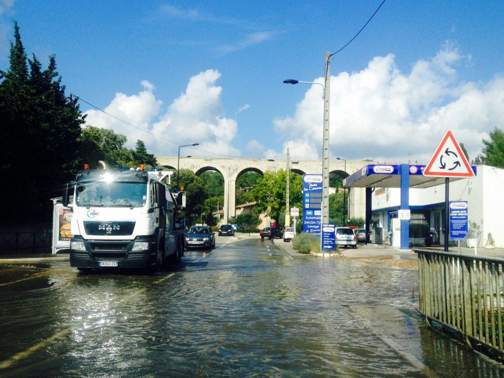 Nîmes et les inondations : un vrai problème